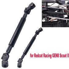 KYX for Redcat Racing GEN8 Scout II HD Metal Reinforced Front &Rear Driveshaft