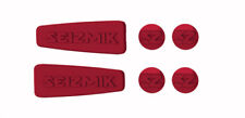 Seizmik Red Weather Seal Caps for Pursuit Side View Mirrors 18074