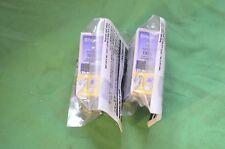 EPSON TWIN 2 x PAIR t013 Cartucce di Inchiostro Nero Autentico Originale Data Sconosciuta