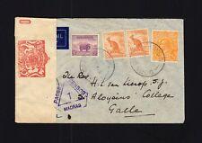 Australia: 1939 Cover to Ceylon - Censored