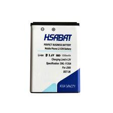 HSABAT 1300mAh BST-36 Battery for Sony Ericsson J300 K510i Z550a K310 J300C X000