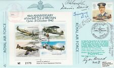 JSF9c 46th Anniv Battle of Britain Signed W.D.David Battle of Britain plus 5
