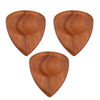 Mediators en Bois Forme de Coeur Plectre Remplacement pour Guitare
