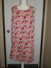 WHITE STAG woman plus size 18 sleeveless dress floral