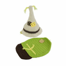 Newborn Baby Scarecrow Halloween Crochet Photo Photography Outfit Knit shower