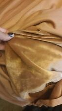 """Soft Chenille Upholstery Drapery Furniture Fabric 9yd Earth/Rust 55""""wide"""
