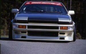 For Toyota Corolla 1984-1987 AE86 Tureno UR Front bumper Fiberglass body kit