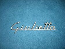 Emblem Badge Alfa Romeo Giulietta aus Metall, ca. 17 x 4,5 cm