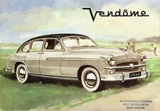 1954 Ford Vendome Dealer  Wall Print 8 x 10  Giclee Print