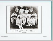 CRICKET  -  UNMOUNTED CRICKET TEAM PRINT - MIDDLESEX - 1895