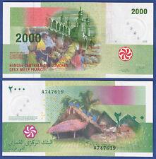 KOMOREN / COMOROS  2000 Francs 2005 UNC  P. 17