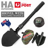 Survival Folding Shovel Outdoor Garden Camping Hiking Spade Foldable/Black