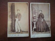 New Listing2 x Henry Lock, Shoreditch, Antique Portrait Photographs (cdv) late 1800's.