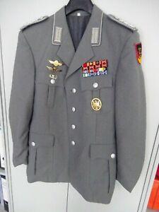 Bundeswehr Uniform Jacke Oberst Pilot Heeresflieger mit allen Abzeichen