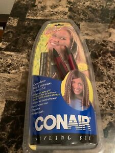 Conair quick extensions complete hair extension styling kit teen clip in new