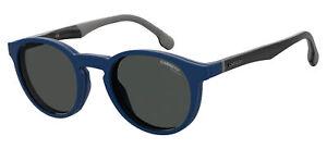Carrera CA 8044/CS Blue  Blue/Grey Folding Clip-On 50/22/145 men Sunglasses