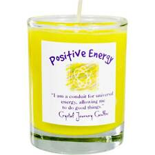 CANDLE - POSITIVE ENERGY Herbal Magic Soy Votive - from Crystal Journey