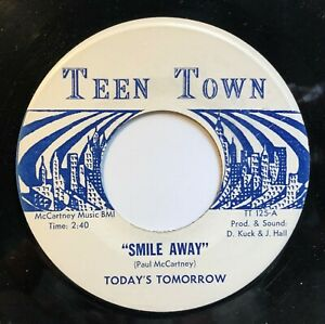 clean Today's Tomorrow 45 on Teen Town • WI garage rock
