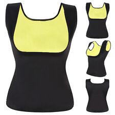 Women Neoprene Push Up Vest Sweat Waist Trainer Hot Body Shaper Cincher Corsets