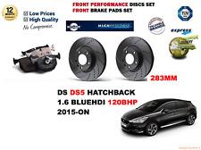 Für Ds DS5 Hb 1.6 Hdi 120 2015-ON Vorderseite Leistung Set Bremsscheiben+Beläge