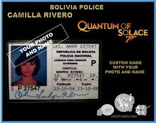 movie  james bond oo7  QUANTUM of SOLACE, CAMILLA MONTES RIVERO bolivia policia