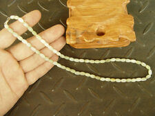beads Green Necklace 19 inches 7534 1Pcs 100% Natural A Jade Jadeite Bead