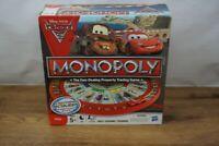 Cars 2 Monopoly Board Game Disney Pixar Complete Lightning McQueen