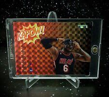 2020 Lebron James Legacy Black Label Kapow Orange Mosaic Black Mask!