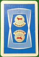 Playing Cards 1 Single Swap Card - Old Vintage MORRIS Car Auto Motor Advert BULL