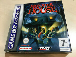 MONSTER HOUSE for the Nintendo Gameboy Advance boxed