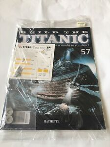 1/250 Hachette Build The Titanic Model Ship Issue 57 Inc Part Pictured.