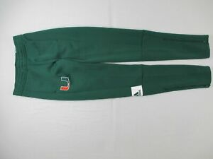 Miami Hurricanes adidas Athletic Pants Men's Other New without Tags
