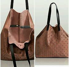 NWT GUESS Studded Leather Tote Bag