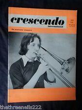 CRESCENDO JAZZ MAGAZINE - MAY 1978 - MICHAEL HEXT