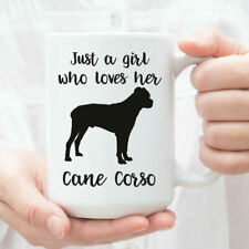 Cane Corso Gifts For Her Just A Girl Who Loves Her Cane Corso Mug Cane Corso Cup