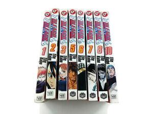 Bleach Volume 1-3,5-8 & 10 Lot Shonen Jump Manga English (Soul Society Arc)