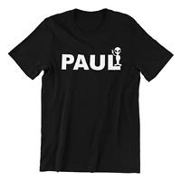 Paul Alien - Funny Mens  Tshirt Cult  Movie Simon Pegg Geek Comic Gift Present