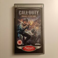 Sony psp umd game Call Of duty  Road To Victory