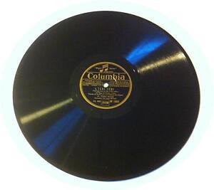 78T LP 78rpm TINO ROSSI Tchi & Laissez moi vous aimer COLUMBIA circa 1936