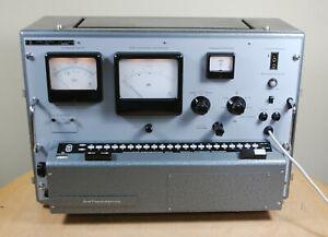 WANDEL & GOLTERMANN KANALLÜCKEN MESSEINRICHTUNG KLE-34 12...552 kHz / SELTEN /