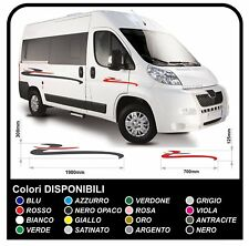 adesivi per CAMPER e minibus mini bus grafica in vinile adesivi camper