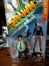 McFARLANE SPAWN SERIES 7 **SAM & TWITCH** 1996 MIP RARE FIGURE!!!!!