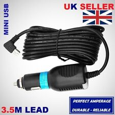 DC Mini USB 3.5M Car Charger To Fit Tomtom GO LIVE Start Rider XL XXL ONE Series