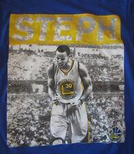 NBA Golden State Warriors Stephen Curry Mens T-shirt, Majestic, Size M, EUC