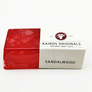 Sandalwood Handmade Natural Soap Bar - Kairos Originals