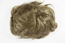 Sunset Brown Blended Light Brown Blond Medium Human Hair Monofilament Wav Toupee