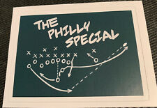 Philadelphia Eagles Champions Super Bowl 52 Decal / Sticker  The Philly Special