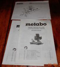 METABO Lasercut KS216 M  Originalbetriebsanleitung für Kappsäge