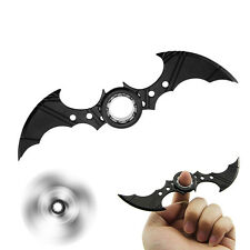 Batarang Fidget Spinner Ring Alloy ADHD Anti-Autism Anxiety Toy for Kids Adult