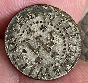 British 17th Cent Token Worcester City Very Scarce